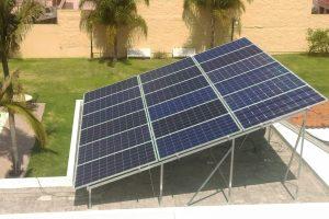Instalacion 18 paneles solares en zapopan