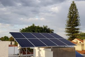 Intalacion de 10 paneles solares