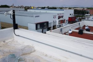 Canalización en techos